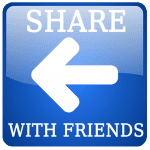 Blue Share Arrow