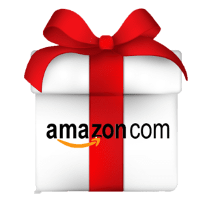 Amazon gift box logo