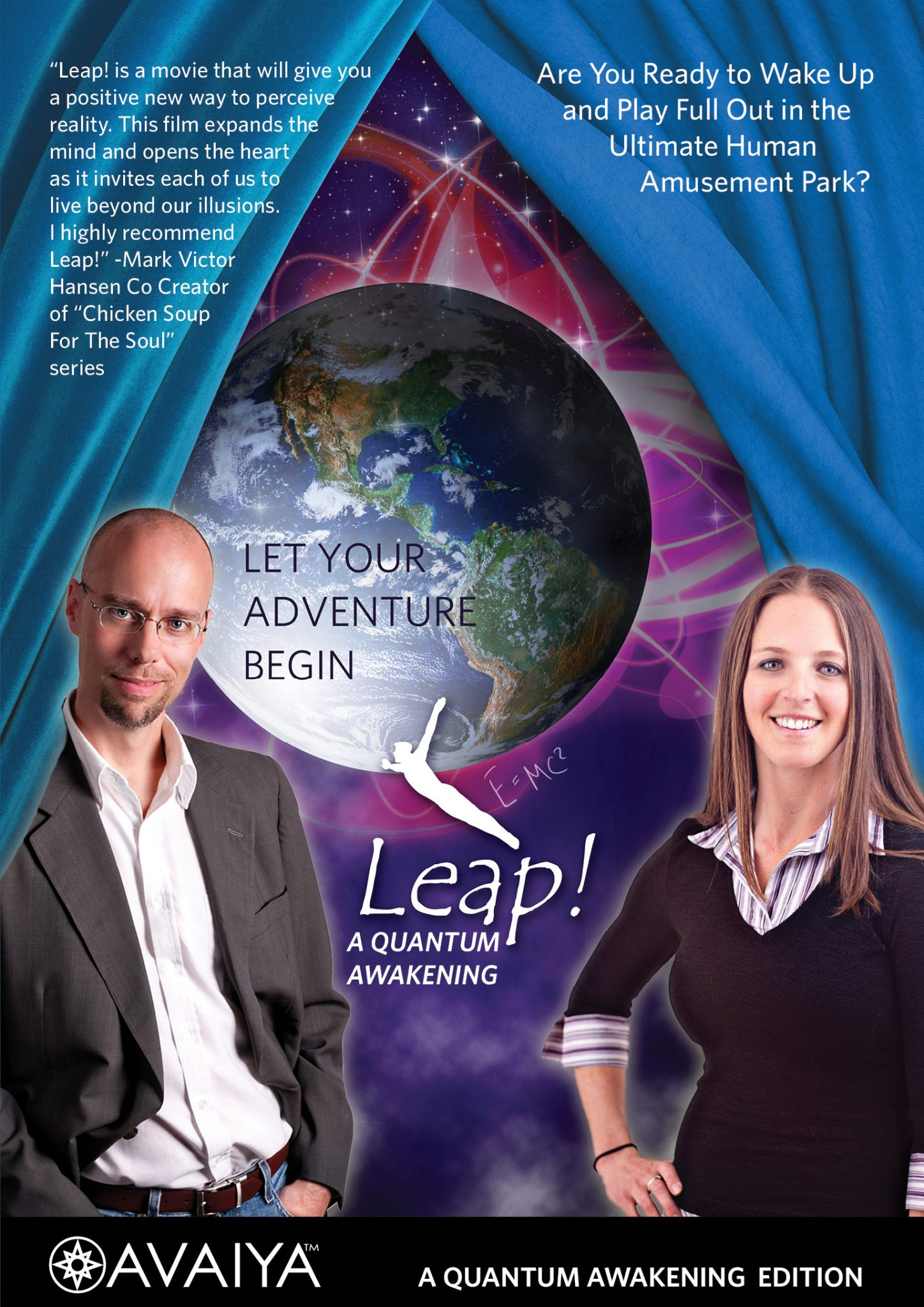 Leap! A Quantum Awakening - 48 Hour Video Rental, Streamed to your Computer (much like Netflix)