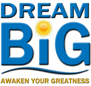 DREAM BIG logo cropped for sales page